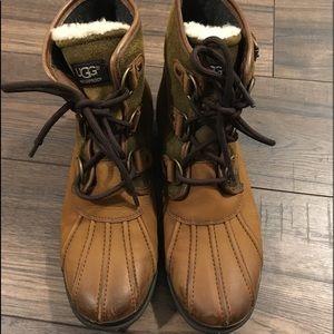 UGG women's waterproof boots size 8
